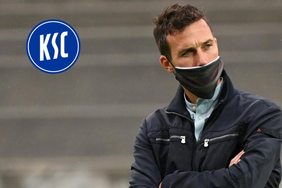 Trainer verärgert: Darum musste der KSC beim Test teilweise in Unterzahl spielen
