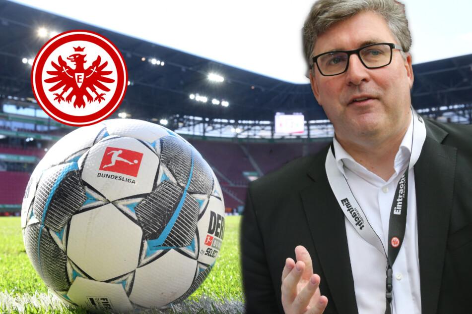 Eintracht-Vorstand Hellmann: So hart wird die Corona-Krise die Bundesliga noch belasten