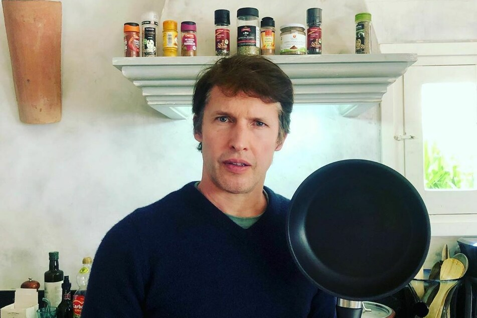 James Blunt (46) ate only on meat for a time.