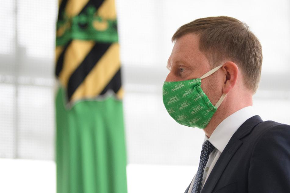 Michael Kretschmer (45, CDU) fordert alle Sachsen auf, sich im Kampf gegen das Coronavirus aktiv zu beteiligen.