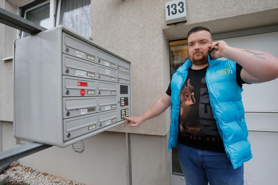 Der Lebensretter: Patrick Otto (25) entdeckte den Wohnungsbrand, klingelte alle Mieter raus und alarmierte die Feuerwehr.
