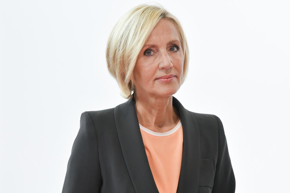"""Ende Mai moderierte Petra Gerster (66) ihre letzte """"heute""""-Sendung im ZDF."""