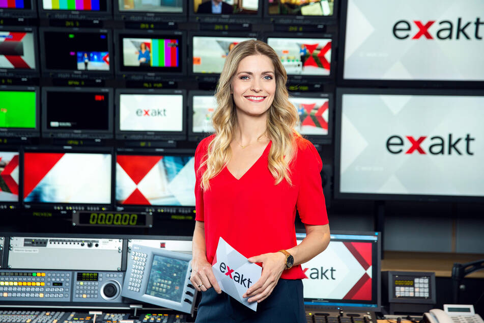 """Wiebke Binder (40) moderiert seit April 2019 die MDR-Sendung """"Exakt""""."""