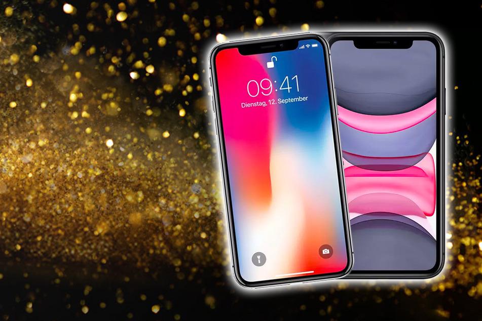Hier bekommt Ihr das Apple iPhone 10 und iPhone 11 für nur 1 Euro¹!