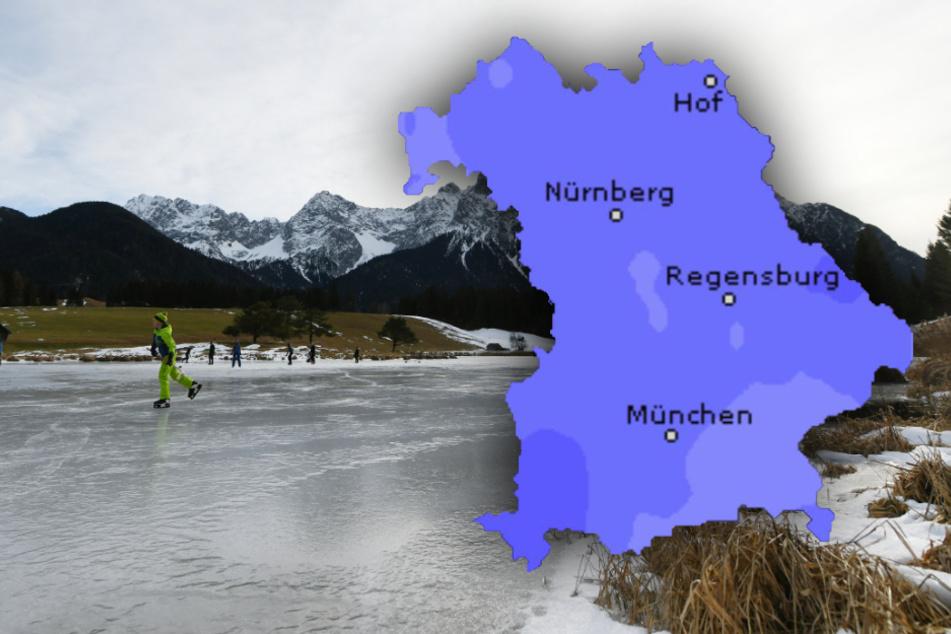 So wird das Bayern-Wetter an Heiligabend und den Feiertagen