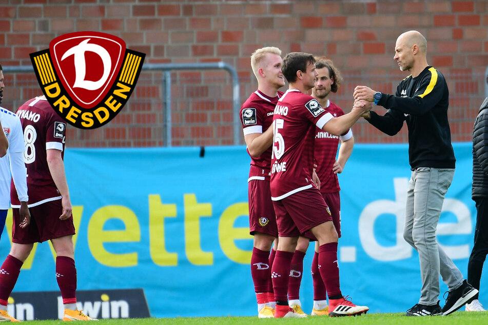 Dynamo-Coach Alexander Schmidt begeistert von Wille, Intensität und Kampfgeist!