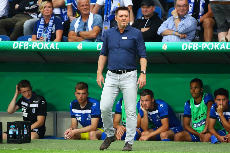 Christian Titz (50, v.) und der 1. FC Magdeburg - das passt!