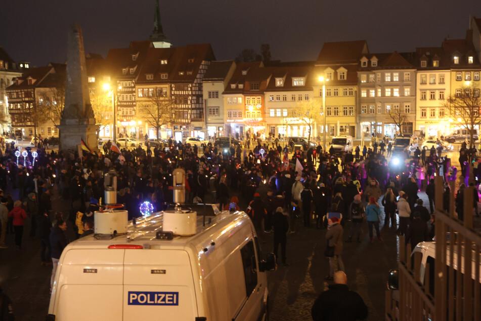 Gericht verbietet Versammlung mit mehreren Tausend Menschen in Erfurt