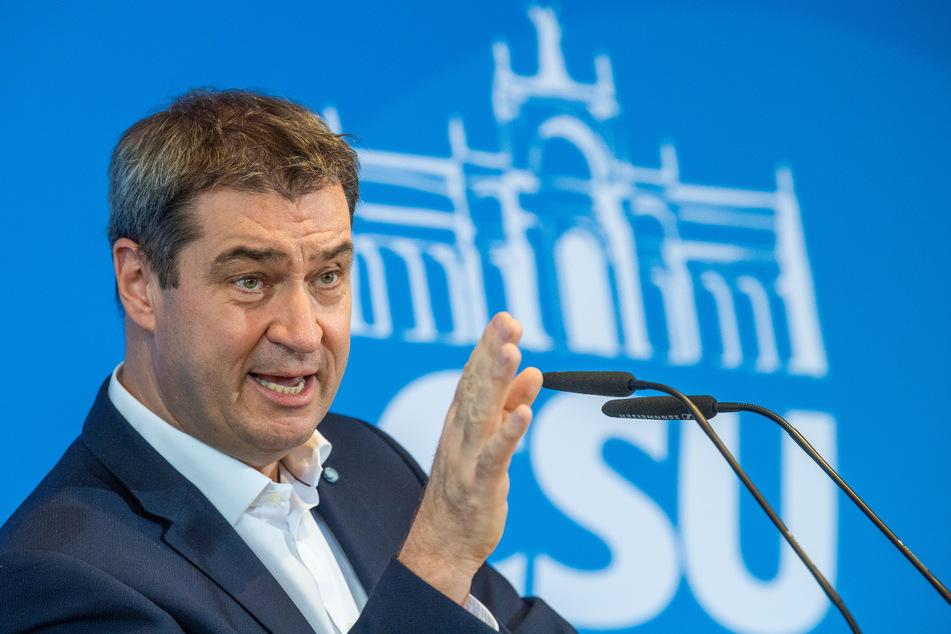 Markus Söder, bayerischer Ministerpräsident und CSU-Vorsitzender (Foto: Lino Mirgeler/dpa).