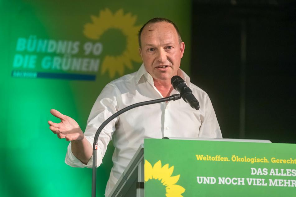 Sachsens stellvertretender Ministerpräsident Wolfram Günther (46, Grüne) spricht sich für Demos in der Corona-Krise aus (Archivbild).