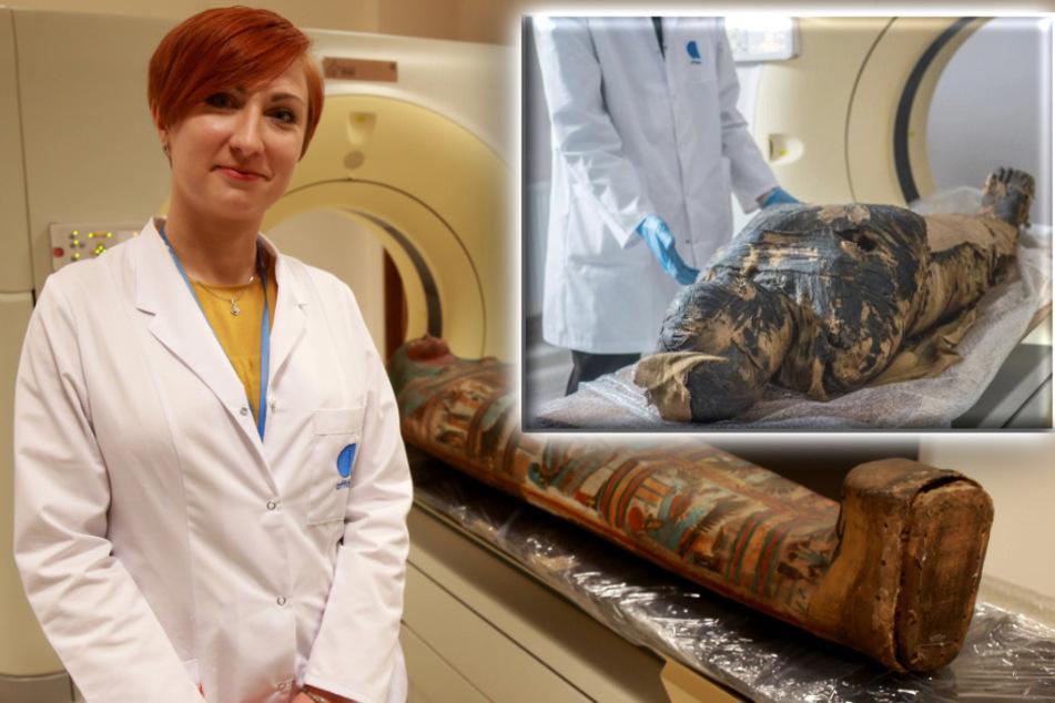 Wissenschaftler mit Sensations-Fund: Forscher entdecken Fötus in einer Mumie!
