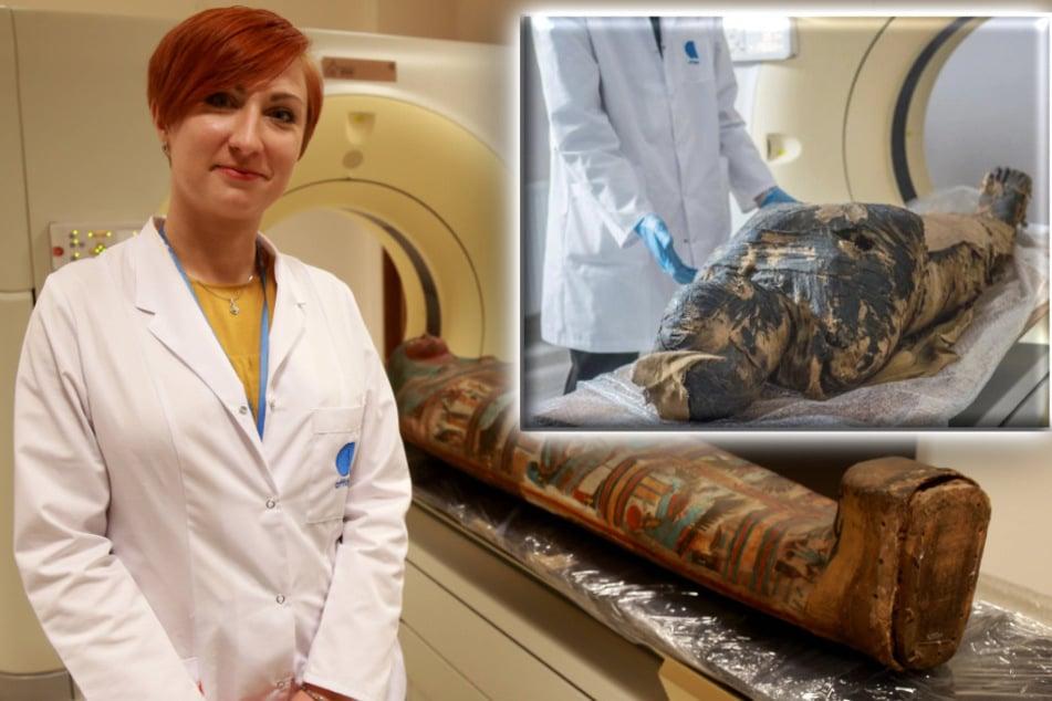 World's first pregnant mummy identified through CT scans!