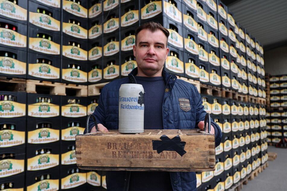 Bier-Krieg: Michael Bergt darf seinen Familiennamen nicht mehr groß aufs Etikett schreiben.