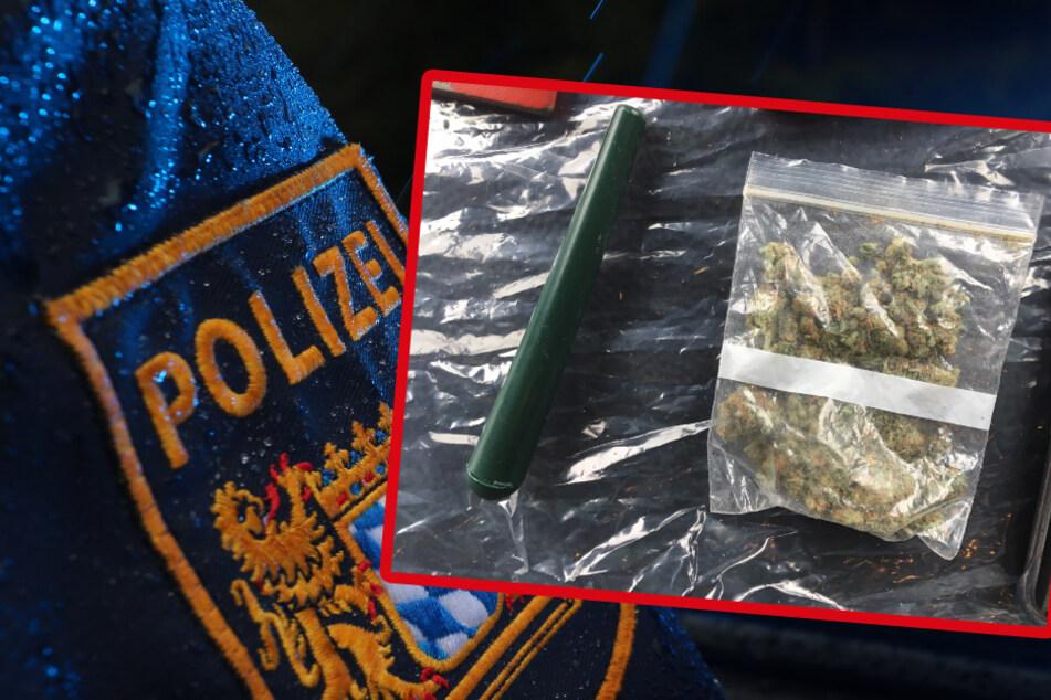 Junge Männer wollen Musikvideo in den Bergen drehen: Polizei findet 60 Joints