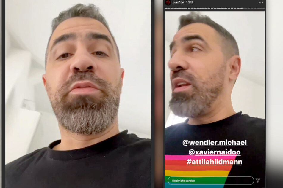 Auf Instagram meldet sich der Rapper aus der Quarantäne.