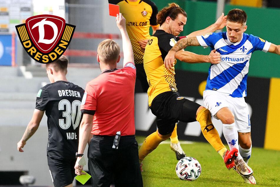 Schlechte Noten für Dynamo-Kicker: Die Bilanz der Auswärts-Niederlage