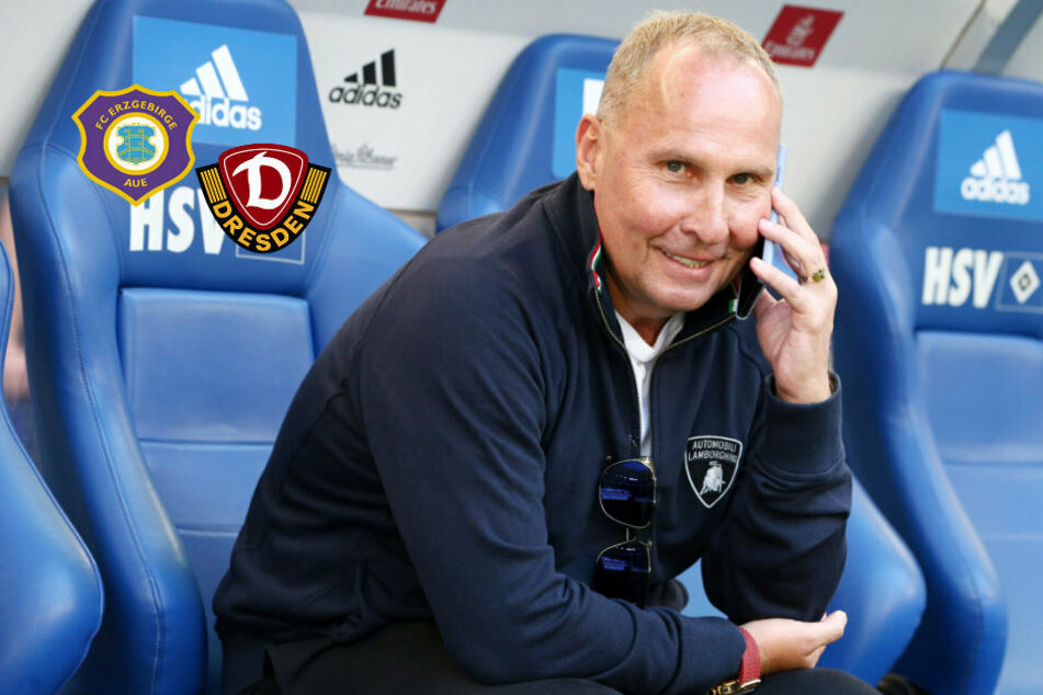 """Aue-Boss Leonhardt empfiehlt (auch wegen Dynamo): """"Abstieg aussetzen!"""""""