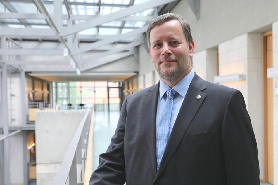 Landeswahlleiter Martin Richter (48).