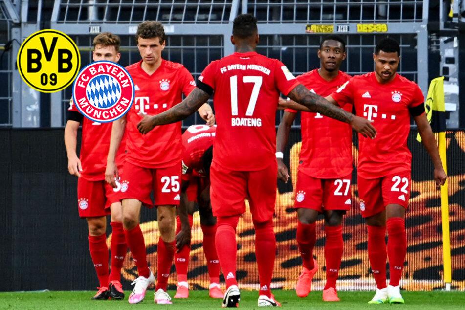 Liveticker zum Nachlesen: FC Bayern triumphiert beim BVB dank Kimmichs Traumtor
