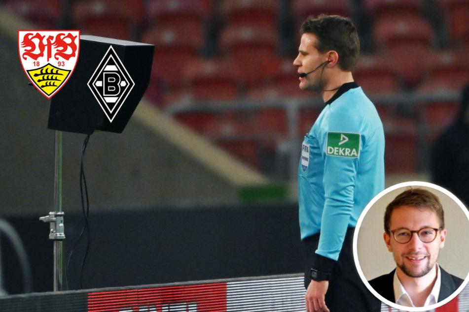 Meine Meinung: VAR-Eingriff bei VfB gegen Gladbach ist ein völliges Desaster!