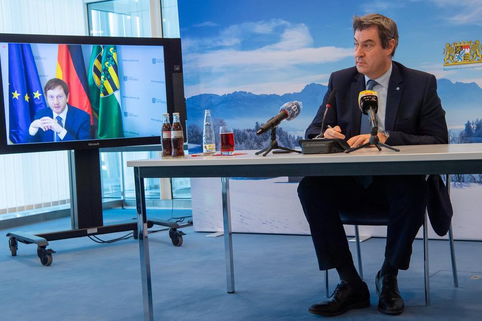 Sachsen, Thüringen und Bayern stellen gemeinsamen Corona-Plan vor