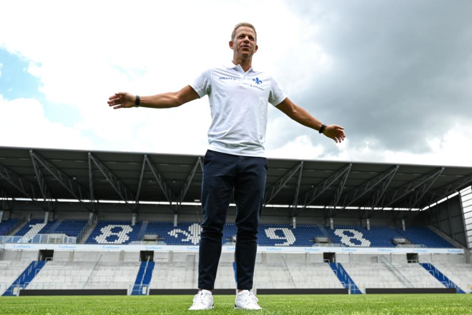 Markus Anfang will vor allem guten Fußball spielen.