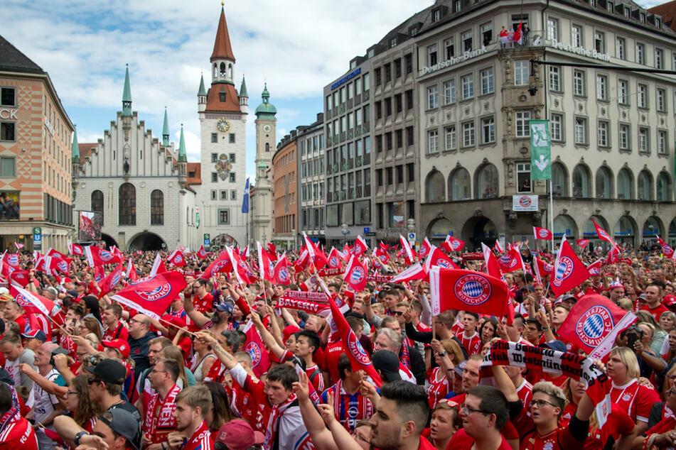 Eine Meisterfeier auf dem Marienplatz wird es in diesem Jahr nicht geben. (Archivbild)