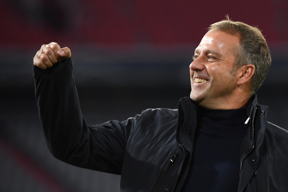 Bayern-Trainer Hansi Flick (55) hat mit den Münchnern mehr Titel gewonnen als Spiele verloren. (Archiv)