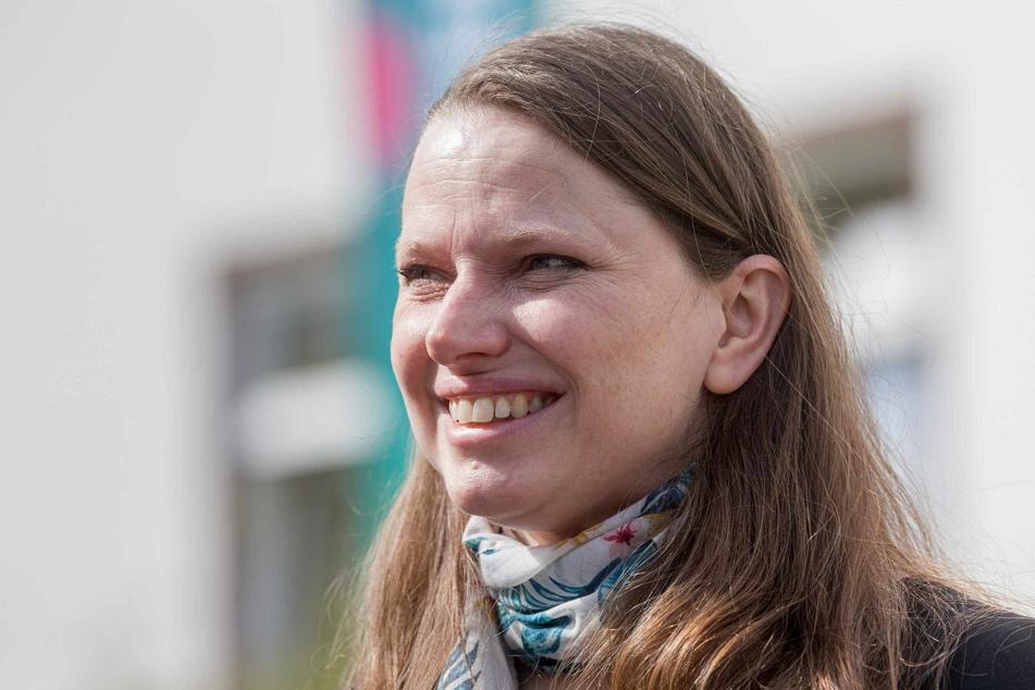 Melanie Leonhard (43, SPD), Senatorin für Arbeit, Soziales, Familie und Integration der Freien und Hansestadt Hamburg, blickt positiv auf die Impfquote in Hamburg. (Archivbild)