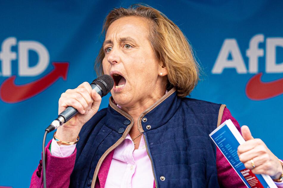 Beatrix von Storch (50, AfD) stellte klar, dass ihre Partei gegen eine Frauenquote sei.