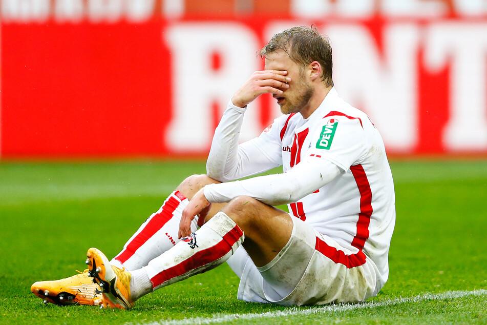 Kölns Sebastian Andersson (29) konnte am Mittwoch wegen Knieproblemen nicht am Training teilnehmen.