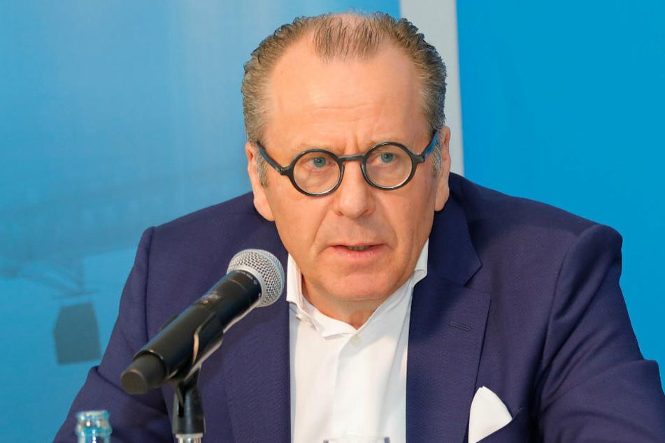 Insolvenzverwalter Klaus Siemon (61) ist gegen einen Abbruch der Saison.