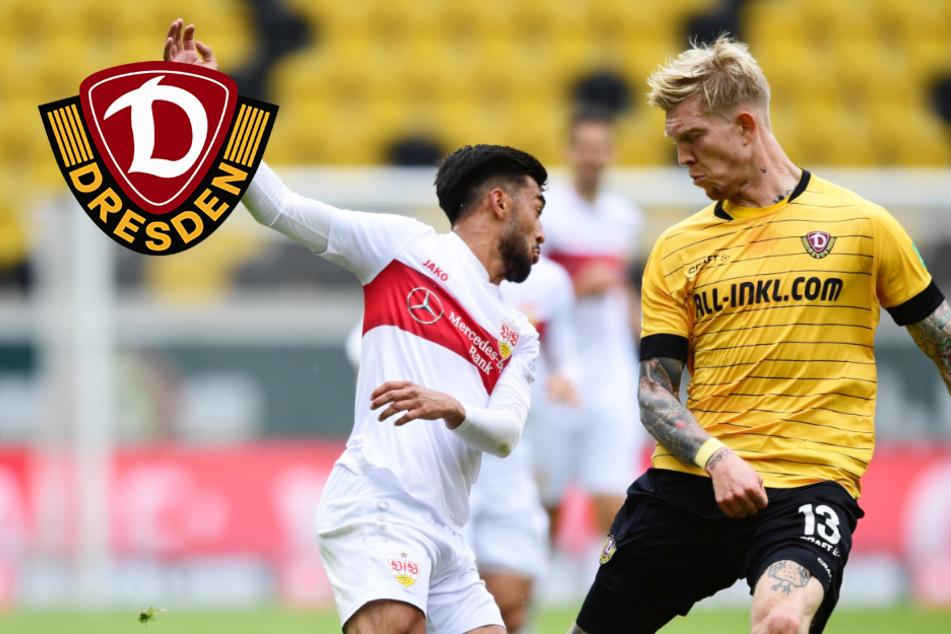 Schade! Dynamo kämpft nach Corona-Pause stark, aber unterliegt Stuttgart