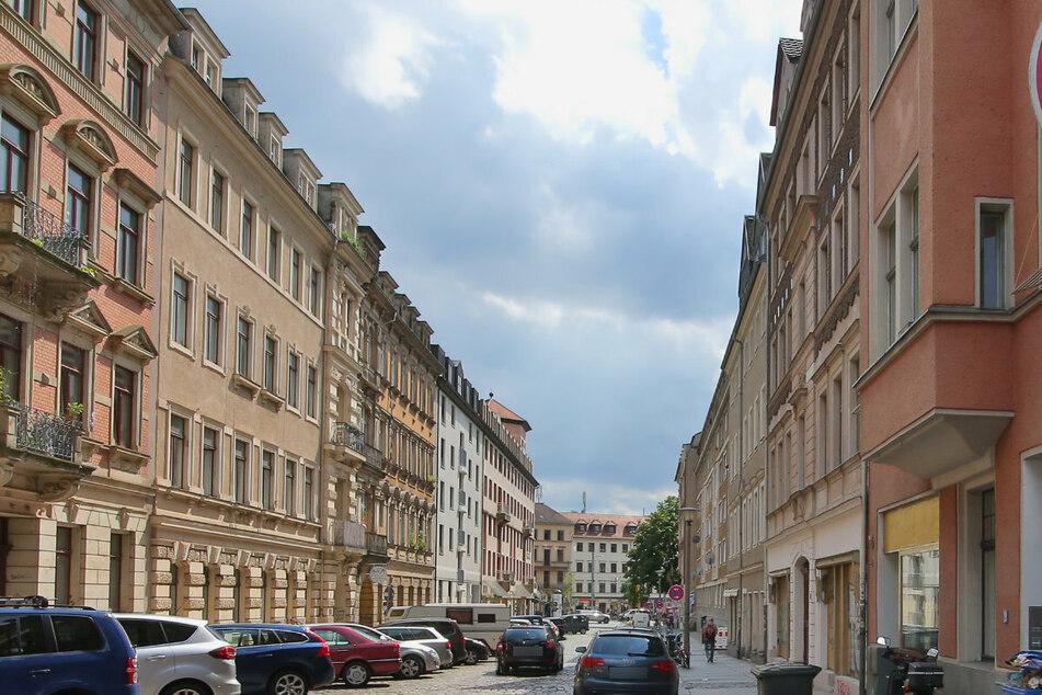 Die Martin-Luther-Straße in Dresden, auf der es zu dem Vorfall kam. (Archivbild)
