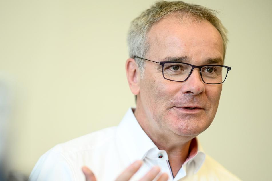 Helmut Dedy, Hauptgeschäftsführer Städtetag, am Rande eines dpa-Interviews.