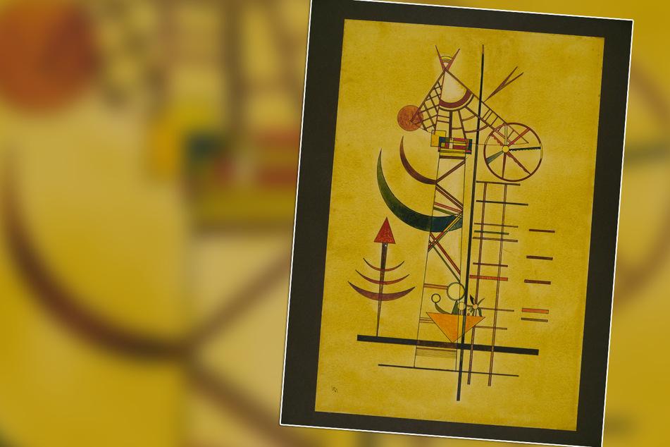 München: Über 70 Jahre verschollen: Aquarell von Kandinsky wieder aufgetaucht