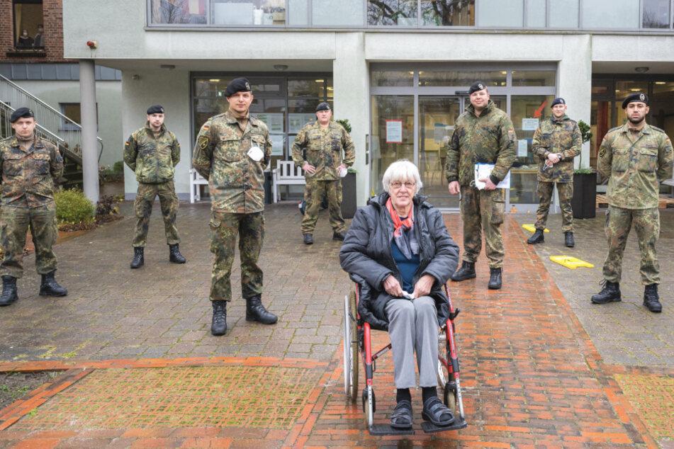 900 Soldaten sollen bei Corona-Tests in Pflegeheimen helfen