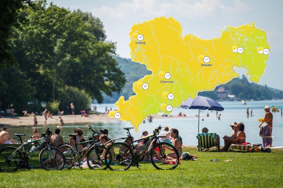 Sonnige Aussichten in Sachsen: Am Wochenende ruft der Sommer
