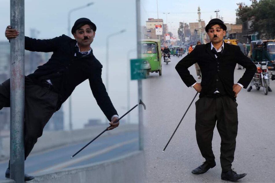 Charlie Chaplin is back – in a very unlikely place!