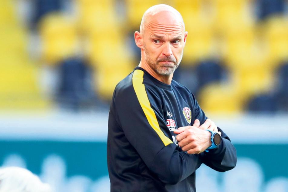 Neu-Trainer Alexander Schmidt (52) hat in den letzten vier Partien wieder mehr Alternativen.