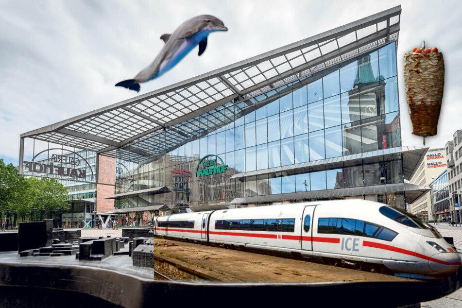 Döner-Drive-in, Delfinarium und ICE-Haltestelle: Was wird jetzt aus dem Galeria-Gebäude?