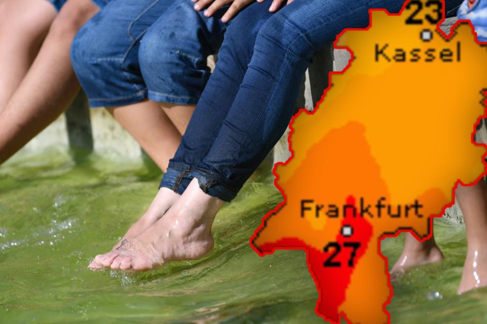 Die Sonne will's in Hessen nochmal wissen: Temperaturen bis zu 27 Grad möglich!