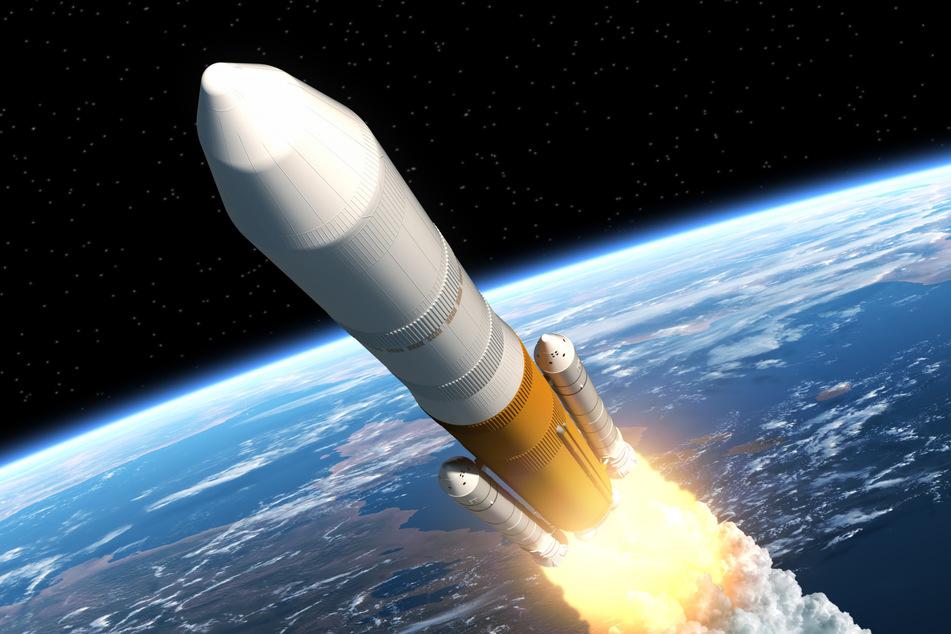 Una volta che i razzi volano alla velocità della luce, l'umanità può visitare l'universo.  Ma tecnicamente non è così facile.  (Immagine icona)