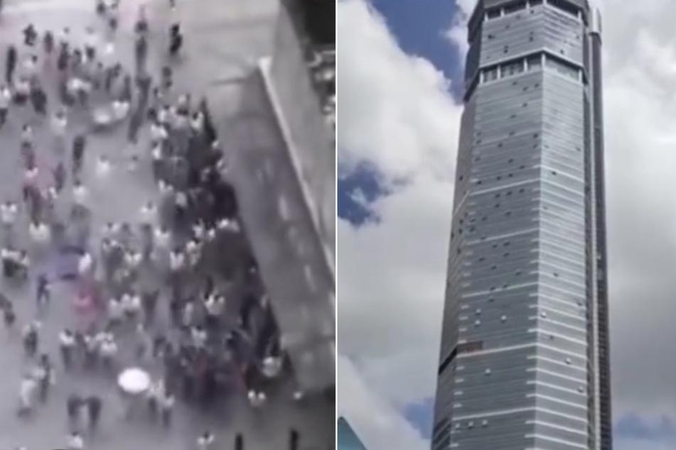 Mega-Hochhaus schwankt und muss geräumt werden