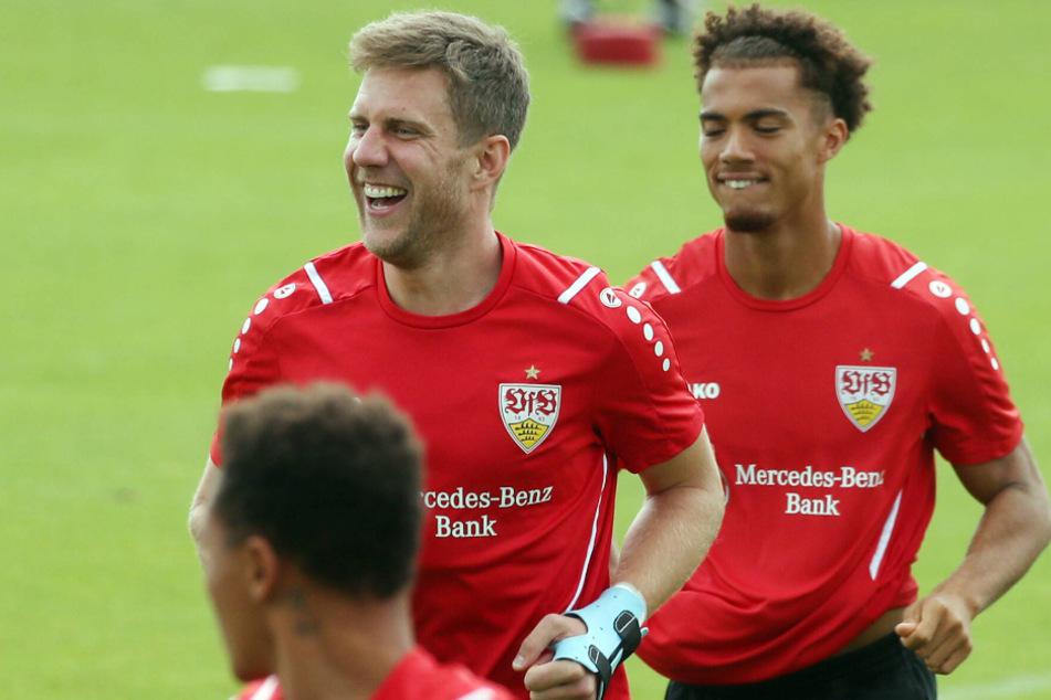 Sie haben die große Chance, zu überraschen: Sven Schipplock (32, l.) und Manuel Polster (18).