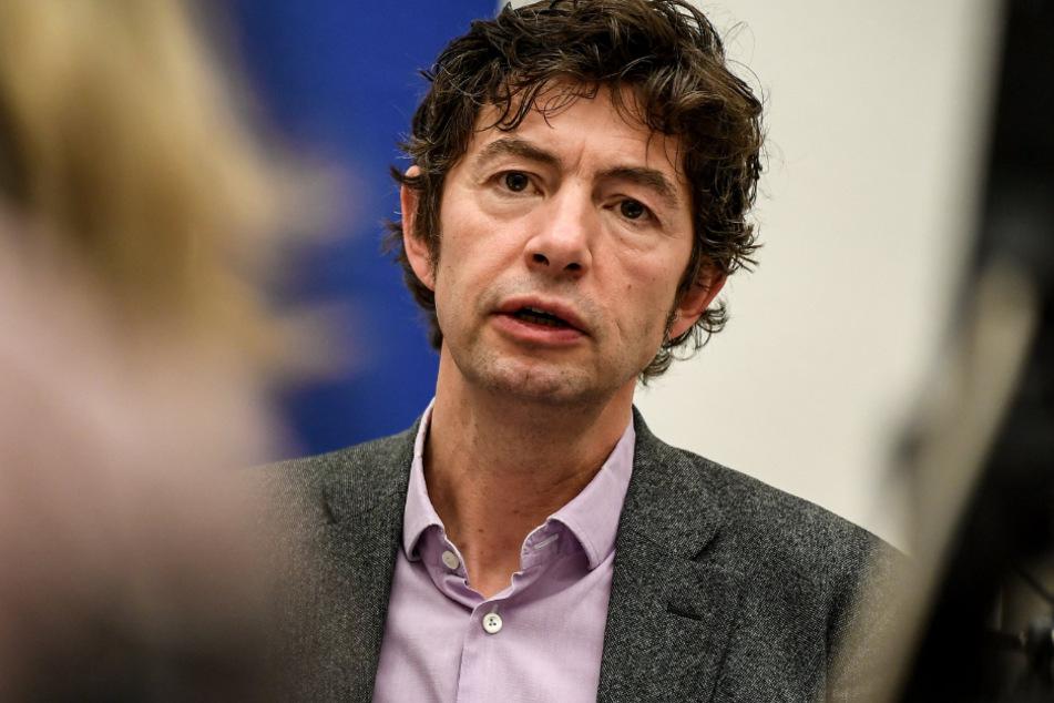 Christian Drosten, Direktor des Instituts für Virologie, informiert regelmäßig über das Coronavirus.