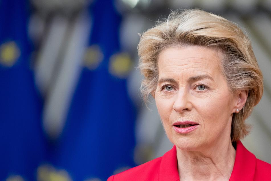 """Ursula von der Leyen, Präsidentin der Europäischen Kommission, bezeichnet die Covid-19-Situation als """"sehr ernst""""."""