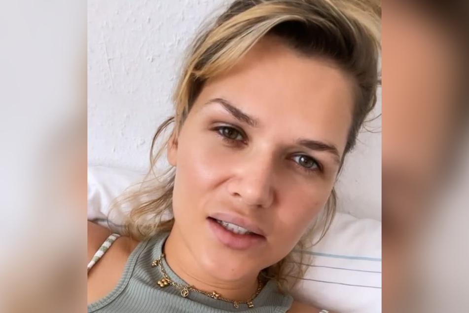 Sara Kulka (31) meldete sich mit einem Update aus der Psychiatrie zurück.