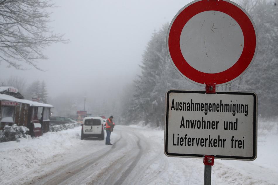 Wintersportort Oberhof soll abgeriegelt werden!
