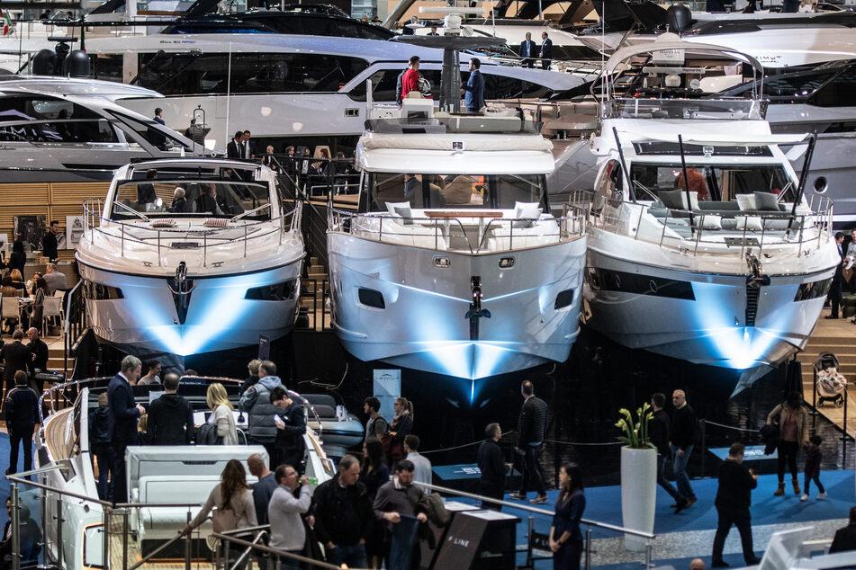 """Die """"Boot"""" gilt als weltweit größte Wassersport- und Freizeitmesse."""